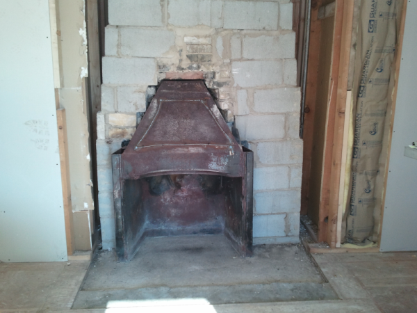 Wisconsin Fireplace Rebuild Chimney Rebuilding Services Chimney Installat