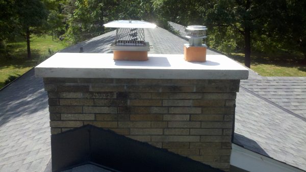 Brookfield Concrete Chimney Cap Repair Milwaukee Chimney
