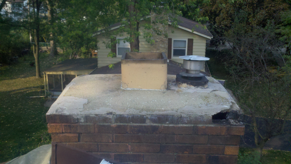 Waukesha Chimney Cap Repair Milwaukee Chimney Flue
