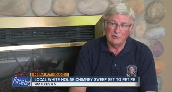 White House Chimney Sweep Retires Milwaukee Tmj4 News