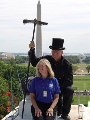 Milwaukee chimney sweeps clean White House chimneys.